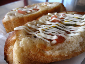 Sonoran hot dog. Image courtesy Flickr user Kate Hopkins.