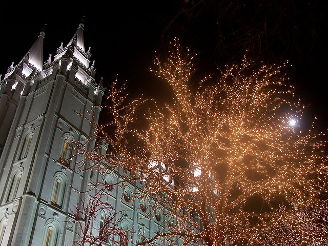 Salt Lake Temple. Image courtesy Zechariah Judy via Flickr.