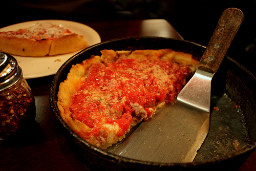 Lou Malnati's, Chicago. Image courtesy goodiesfirst via Flickr.