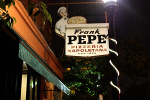 Pepe's in New Haven. Image courtesy goodiesfirst via Flickr.