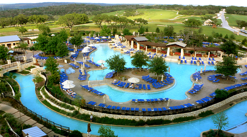 5 best resorts with lazy rivers swimming pools bags for Texas spas and resorts