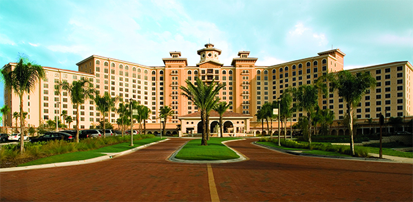 The 2014 Cattle Barons' Ball was held at the beautiful Rosen Shingle Creek. {Image courtesy Rosen Shingle Creek.}