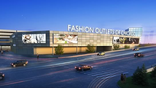 Fashion Outlets of Chicago, where Bags Inc will be providing concierge and guest services, as well as Bags Airline Check-In services.