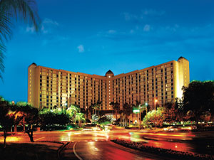 Rosen Plaza Hotel where Bags Parking and Guest Services provides valet, arrival, and departure services.